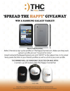 Spread The Happy Giveaway!