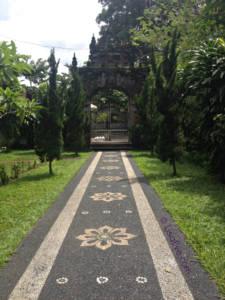 Pathway to Goa Gajah