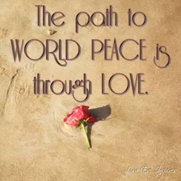 Who Wants World Peace?