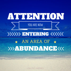 Area of Abundance!
