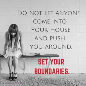 Do not let anyone…
