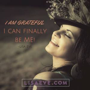 I am grateful…