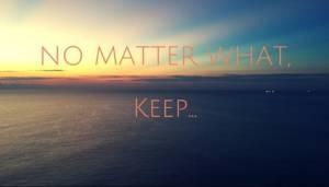 No Matter What – Half Q