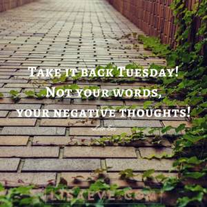 Take it back Tuesday!