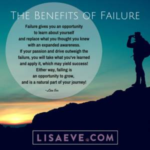 The Benefits of Failure